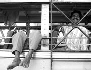 View the image: Bus ride, Kerala, India, 1996