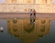 View the image: Taj Mahal reflection, 1994