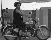 View the image: Sadhu and Royal Enfield Bullet