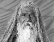 View the image: Sadhu meditation