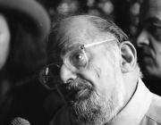 View the image: Allen Ginsberg, Lowell Mass., USA, 1992