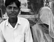 View the image: Husband and wife, Pushkar, 1996