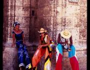 View the image: Stiltwalkers, Havana, 2008